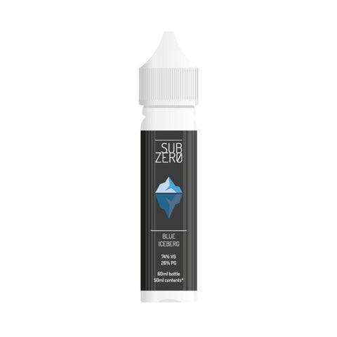 SALE!!! Subzero E-liquid - 50ml Short Fill 0mg