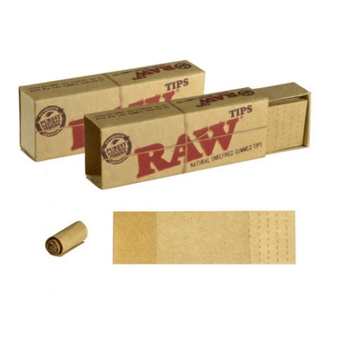 Raw - Gummed Perforated Tips - The JuicyJoint