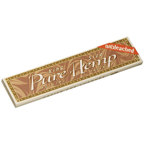 Pure Hemp - Unbleached - Kingsize Rolling Papers