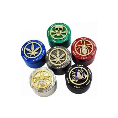 Diamond Bling - 4 Part Metal Grinder 50mm