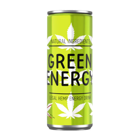 Green Energy  250ml - Hemp Energy Drink