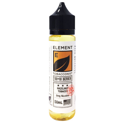 Element E-liquid Tobacconist Series - 50ml Short Fill 0mg **2FOR£20PROMO**