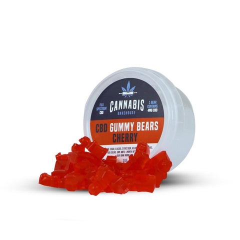 Cannabis Bakehouse - CBD Gummy Bears 30g Tub
