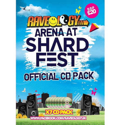 Shardfest 2018 - Raveology Drum And Bass CD Pack