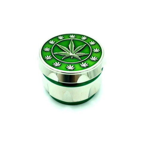 40mm Metal 4 Part Grinder - Multi Leaf