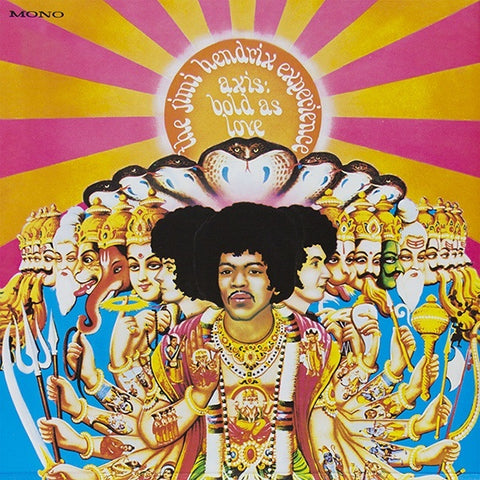 The Jimi Hendrix Experience - Axis: Bold As Love LP