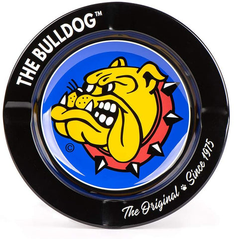 The Bulldog - 14cm Metal Ashtray - Assorted Designs