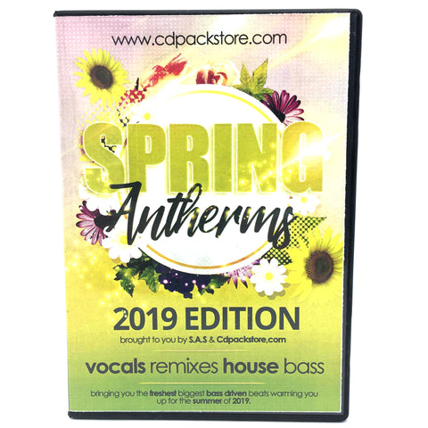 Spring Anthems 2019 - 4 X CD Pack