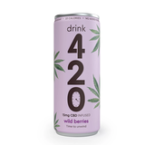 Drink 420 - 15mg CBD Infused Natural Fruit Soda