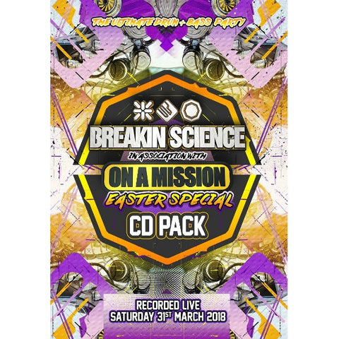 Breakin Science And On A Mission - Easter Special CD Pack