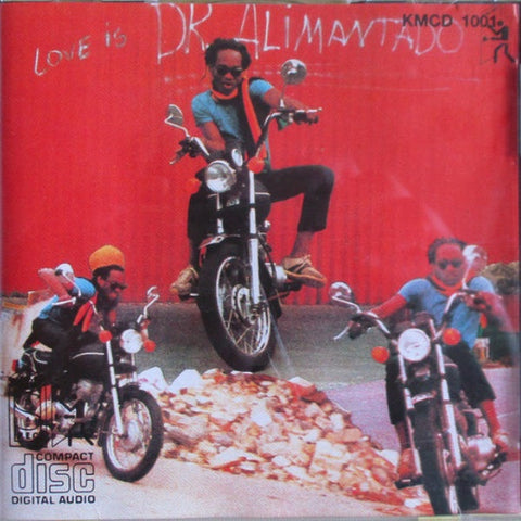 Dr Alimantado - Love Is Vinyl Album - The JuicyJoint