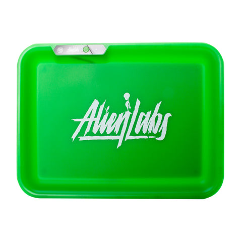 Alien Labs (Green) Led Glow Tray X - USB Rolling Tray