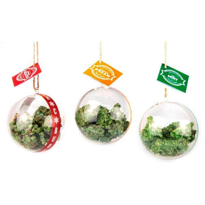 Chocobuds Christmas Bauble - Set of 3 x 50g Gelato, Thin Mint & Tangerine Dream SALE!!