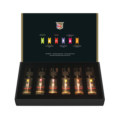 JuiceMeister Butler & Bond Selection Box - 6 x 10ml (TPD Compliant) - The JuicyJoint