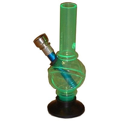 Acrylic Mini 15cm Bong PBAC59 - The JuicyJoint
