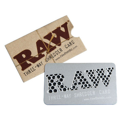 RAW - Three Way Shredder Card Grinder