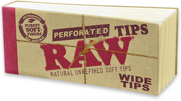 Raw - Perforated Tips - Wide