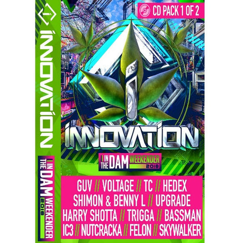 Innovation In The Dam - 2018 CD Pack 1