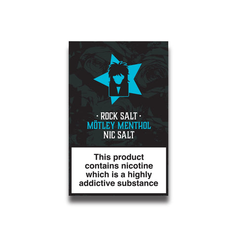 Rock Salt Menthol - 10ml E-Liquid Nicotine Salts 20mg