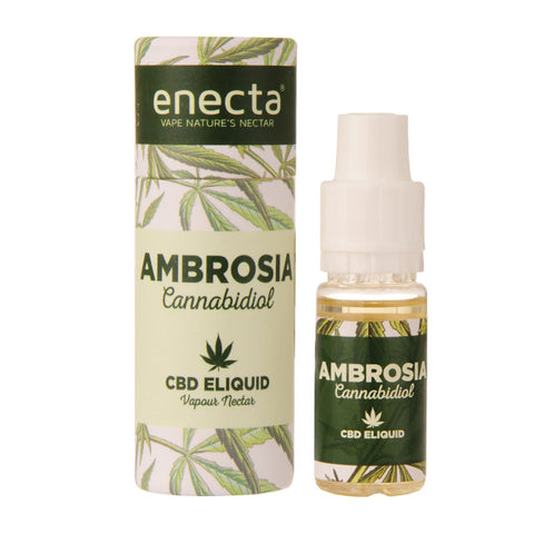 Enecta Ambrosia 10ml/100mg CBD E Liquid - The JuicyJoint