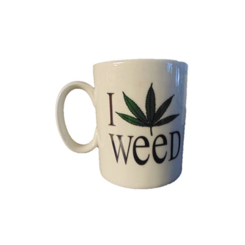 I Leaf Weed Coffee Mug - The JuicyJoint
