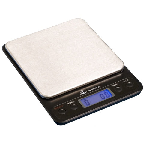 ON BALANCE OB-1000 OB Series Table Top Scale 1000g x 0.1g - The JuicyJoint