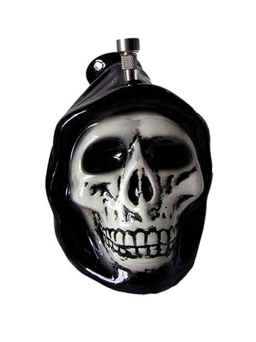 Ceramic Hooded Skull Bong - The JuicyJoint