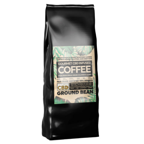 Equilibrium CBD Infused Coffee -  Ground Bean