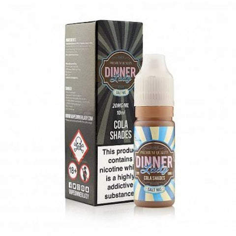 Dinner Lady Nicotine Salts 20mg E-Liquid 10ml
