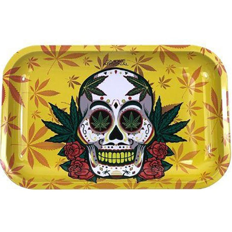 Smoke Arsenal - Skull And Stoned Rolling Tray