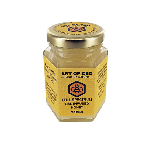 Art of CBD - Full Spectrum CBD Infused Honey 300mg