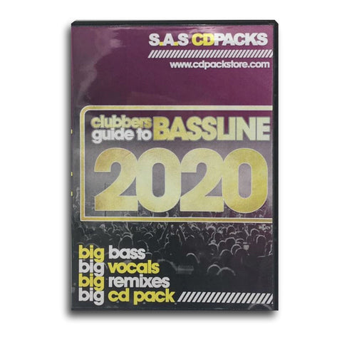 Clubbers Guide To Bassline 2020 - 4 x CD Pack
