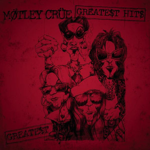 Motley Crue - Greatest Hits 2 x LP - The JuicyJoint