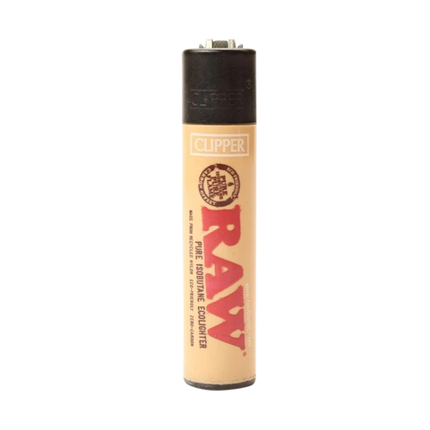 RAW Clipper Lighter - Special Edition Black Top