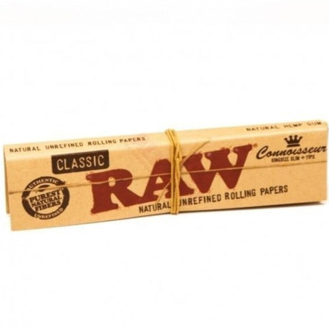 Raw - Classic Connoisseurs Papers with Tips - The JuicyJoint