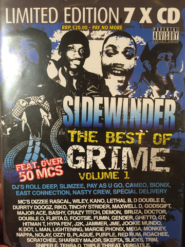 Sidewinder Presents The Best of Grime Vol 1- 7cd