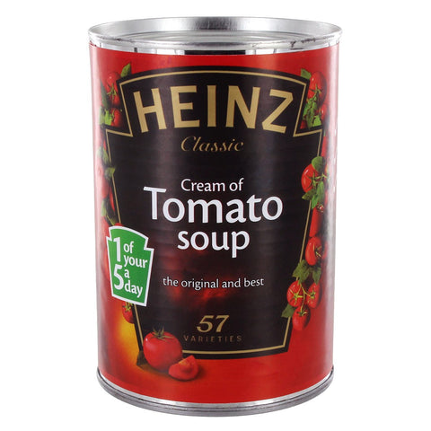 Tomato Soup Safe Storage Stash Can