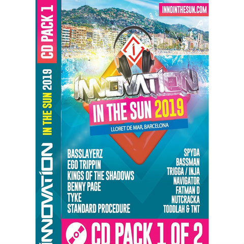 Innovation In The Sun 2019 - CD Pack 1 & 2