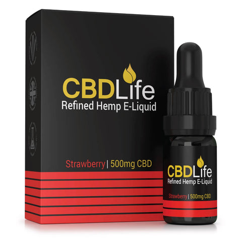 CBD Life - Broad Spectrum CBD E-Liquid 10ml