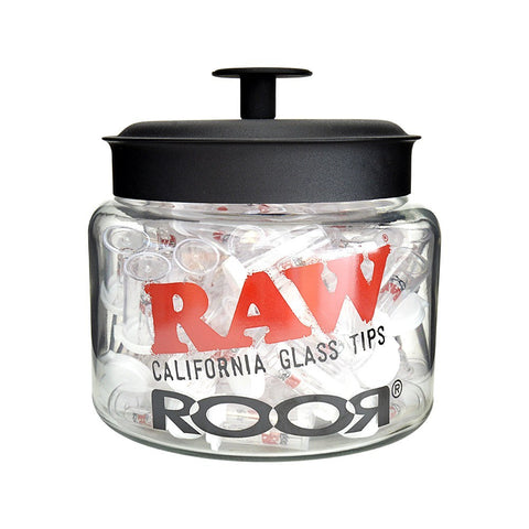 RAW / Roor - Californian Glass Tips - The JuicyJoint