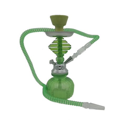 Shisha Pipe - Diamond Stem 26cm, 1 Person