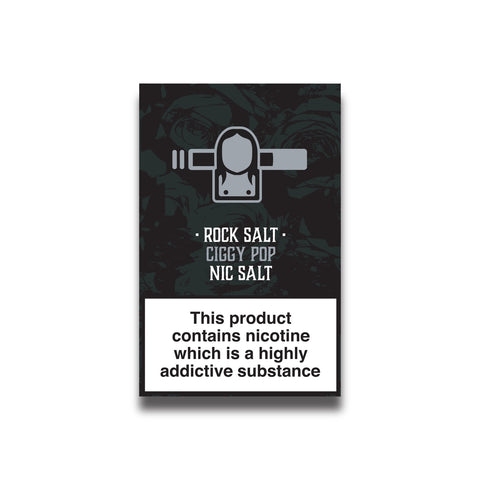 Rock Salt Tobacco - 10ml E-Liquid Nicotine Salts 20mg