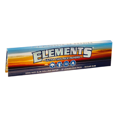Elements - Kingsize Slim Ultra Thin - Rice Rolling Papers