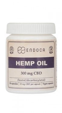 Endoca Capsules Hemp Oil 300mg CBD - The JuicyJoint