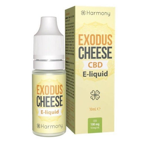 SALE!! Harmony Cannabis Originals - Exodus Cheese Terpenes + CBD E-liquid 10ml