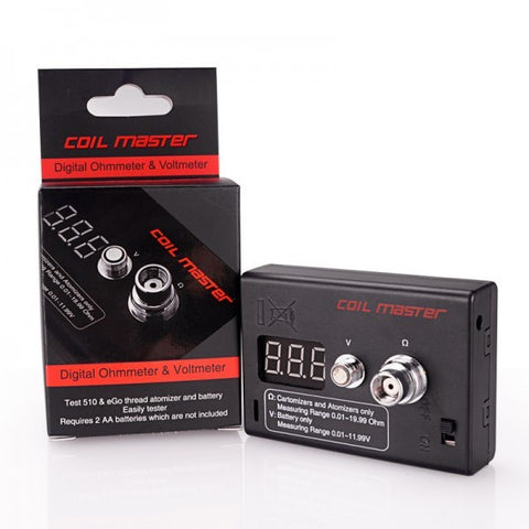Coil Master Ohm Meter - The JuicyJoint