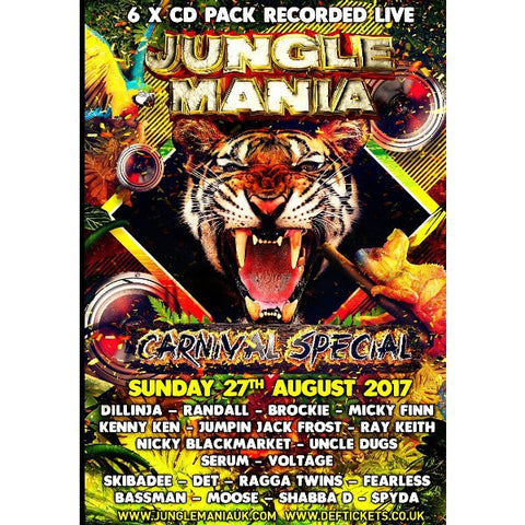 Junglemania - Carnival 2017 Cd Pack - The JuicyJoint