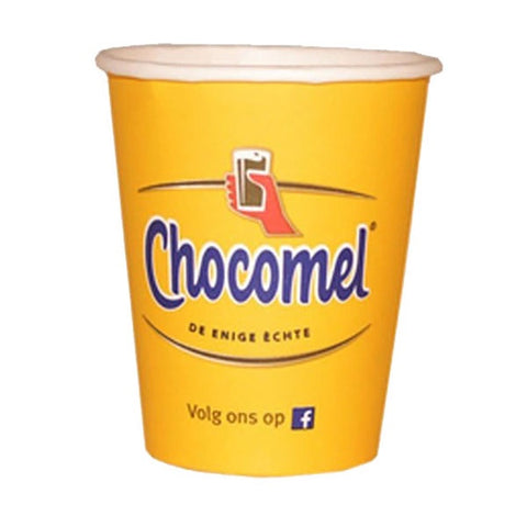 Chocomel Chocolate Milk Drink - 10 x Paper Cups