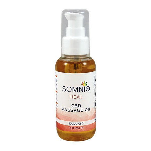 Somnio Heal Massage Oil -  900mg CBD 100ml