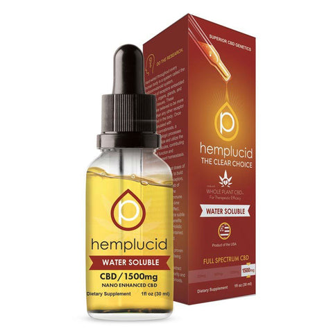 SALE!! Hemplucid - Water Soluble CBD Oil 30ml